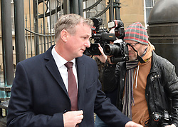 Manager of the Northern Ireland football team Michael O'Neill at Court in Edinburgh after pleading guilty to drink driving in September on the Edinburgh City bypass. O'Neill has been widely tipped as a potential replacement for Gordon Strachan as Scotland manager. He was three times the drink drive limit and was banned for 16 months and fined &pound;1300.<br /> <br /> &copy; Dave Johnston/ EEm