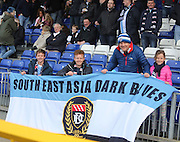 The Anderson family travelled from Singapore to watch Dundee at Inverness - Inverness v Dundee  - SPFL Premiership at the Caledonian Stadium<br /> <br />  - &copy; David Young - www.davidyoungphoto.co.uk - email: davidyoungphoto@gmail.com