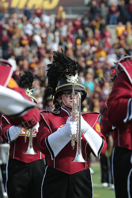 Homecoming football game and festivities vs. Ohio University on Saturday October 4, 2014. Photos by Steve Jessmore/Central Michigan University