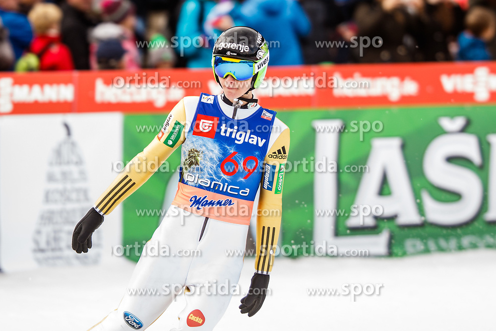 Domen Prevc of Slovenia during the Ski Flying Hill Individual Qualification at Day 1 of FIS Ski Jumping World Cup Final 2017, on March 23, 2017 in Planica, Slovenia. Photo by Grega Valancic / Sportida