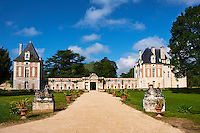 France, Loir-et-Cher (41), le chateau de Selles-sur-Cher // France, Loir-et-Cher, the castle of Selles-sur-Cher