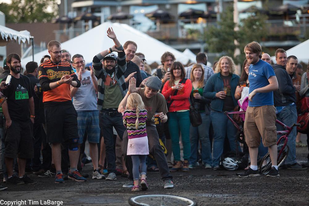 Biketobeer Festival 2013 at Hopworks Urban Brewery in Portland, Oregon. Image by Tim LaBarge