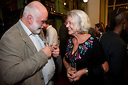 ION TREWIN; KATE ADIE, Drinks to celebrate the 60th anniversary of the Times Cheltenham Literature festival. Hosted by James Harding editor of the Times and the Directors of the Cheltenham Festival. The London Library. St. James's Sq. 23 September 2009.