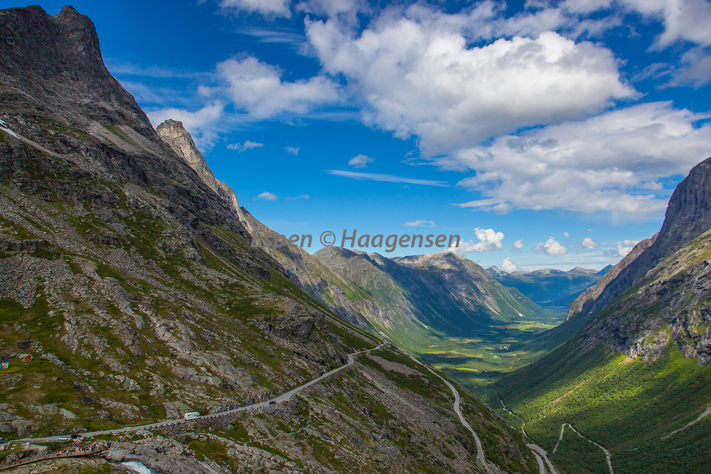 Tourist road at Trollstigen