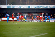 Crawley Town midfielder Jimmy Smith (8) takes a penalty and scores (score 1-0) during the EFL Sky Bet League 2 match between Crawley Town and Grimsby Town FC at the Checkatrade.com Stadium, Crawley, England on 10 February 2018. Picture by Andy Walter.