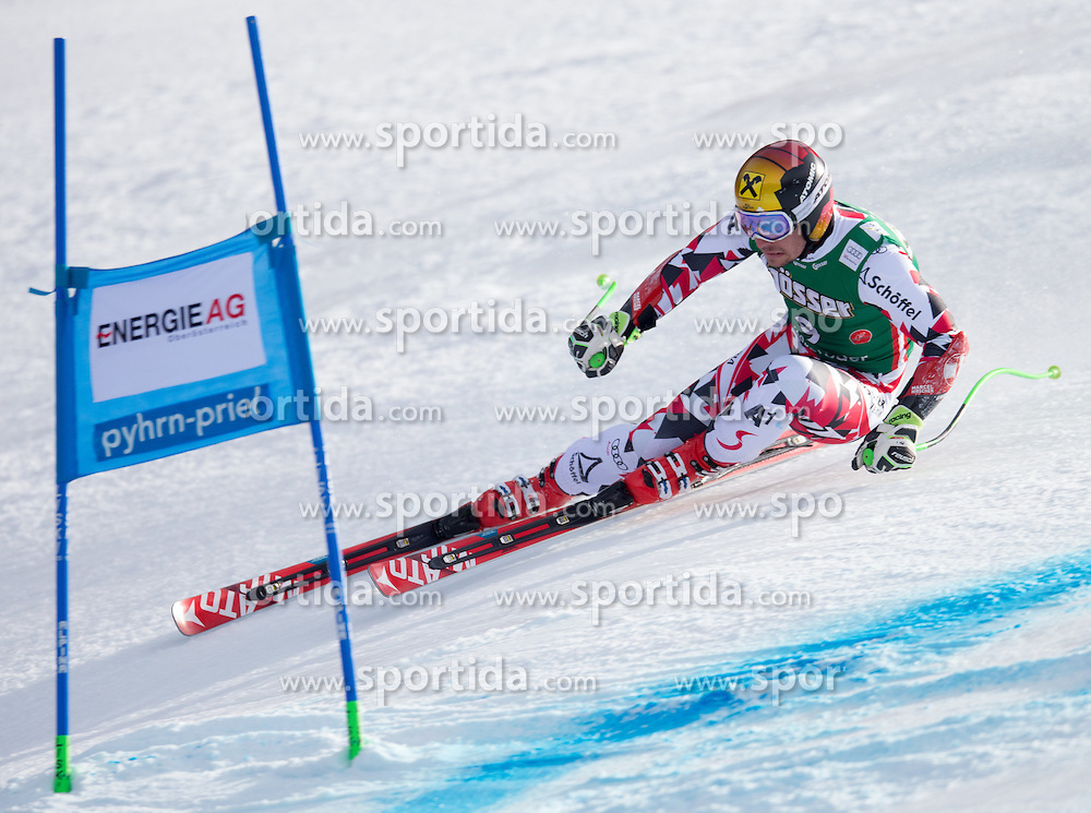 27.02.2016, Hannes Trinkl Rennstrecke, Hinterstoder, AUT, FIS Weltcup Ski Alpin, Hinterstoder, Super G, Herren, im Bild Marcel Hirscher (AUT, 3. Platz) // 3rd placed Marcel Hirscher of Austria competes during his run of men's Super G of Hinterstoder FIS Ski Alpine World Cup at the Hannes Trinkl Rennstrecke in Hinterstoder, Austria on 2016/02/27. EXPA Pictures © 2016, PhotoCredit: EXPA/ Johann Groder