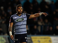 Cardiff Blues' Willis Halaholo<br /> <br /> Photographer Simon King/Replay Images<br /> <br /> Guinness Pro14 Round 9 - Cardiff Blues v Connacht Rugby - Friday 24th November 2017 - Cardiff Arms Park - Cardiff<br /> <br /> World Copyright © 2017 Replay Images. All rights reserved. info@replayimages.co.uk - www.replayimages.co.uk