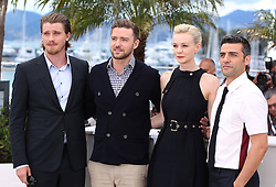 59665515  .(L to R) Cast members actor Garrett Hedlund, Justin Timberlake, Carey Mulligan and Oscar Isaac pose during a photocall for American film Inside Llewyn Davis presented in Competition at the 66th edition of the Cannes Film Festival in Cannes, southern France, May 19, 2013. Photo by: imago / i-Images. UK ONLY