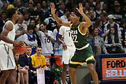 Jalen Pickett (22) of Siena guards Quentin Goodin (3) of Xavier during an NCAA college basketball game, Friday, Nov. 8, 2019, at the Cintas Center in Cincinnati, OH. Xavier defeated Siena 81-63. (Jason Whitman/Image of Sport)