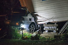 Otara-Fatal crash after car hits house
