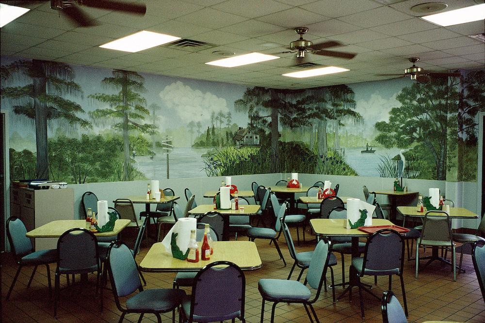 Seafood diner. Picayune, Louisiana, USA.