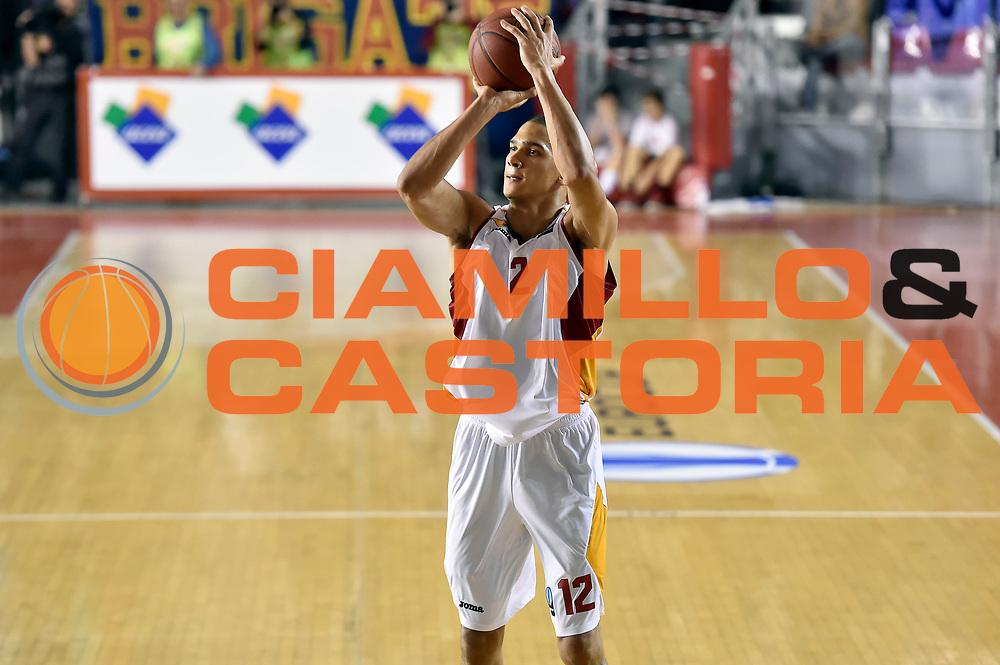 DESCRIZIONE : Eurocup 2014/15 Acea Roma Ewe Basket Oldenburg<br /> GIOCATORE : Daniele Sandri<br /> CATEGORIA : tiro three points<br /> SQUADRA : Acea Roma<br /> EVENTO : Eurocup 2014/15<br /> GARA : Acea Roma Ewe Basket Oldenburg<br /> DATA : 12/11/2014<br /> SPORT : Pallacanestro <br /> AUTORE : Agenzia Ciamillo-Castoria /GiulioCiamillo<br /> Galleria : Acea Roma Ewe Basket Oldenburg<br /> Fotonotizia : Eurocup 2014/15 Acea Roma Ewe Basket Oldenburg<br /> Predefinita :