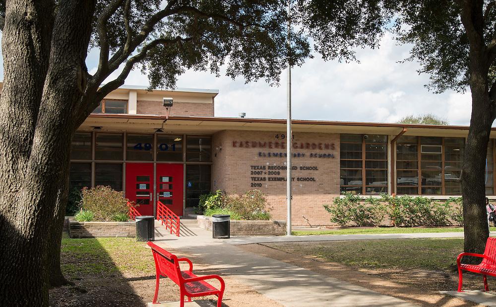 Kashmere Gardens Elementary School, February 1, 2017.