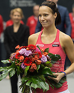 Viktorija Golubic (SUI) runner up in the final of the WTA Generali Ladies Linz Open at TipsArena, Linz<br /> Picture by EXPA Pictures/Focus Images Ltd 07814482222<br /> 16/10/2016<br /> *** UK &amp; IRELAND ONLY ***<br /> <br /> EXPA-REI-161016-5032.jpg