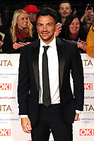 Peter Andre, National Television Awards, The O2, London, UK, 22 January 2019, Photo by Richard Goldschmidt
