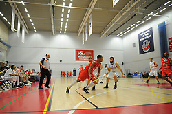 Bristol Flyers' Dwayne Lautier-Ogunleye - Photo mandatory by-line: Dougie Allward/JMP - Mobile: 07966 386802 - 27/02/2015 - SPORT - basketball - Bristol - SGS Wise Campus - Bristol Flyers v Leeds Force - British Basketball League
