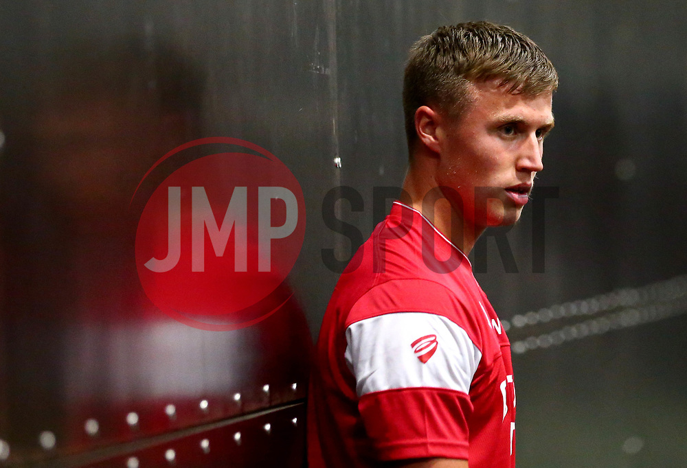 George Nurse looks on as Bristol City Under 23's return to training with fitness testing ahead of the 2017/18 season - Mandatory by-line: Robbie Stephenson/JMP - 30/06/2017 - FOOTBALL - SGS Wise Campus - Bristol, United Kingdom - Bristol City Under 23's Fitness Tests