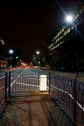 UK ENGLAND LONDON 23NOV10 - LED street lighting test site at Blackfriars Road, Southwark, central London...Light-emitting diode (LED) lamps, combined with smart controls, can cut CO2 emissions 50 to 70%. Lighting accounts for nearly 10% of global CO2 emissions, more than cars worldwide...jre/Photo by Jiri Rezac..© Jiri Rezac 2010