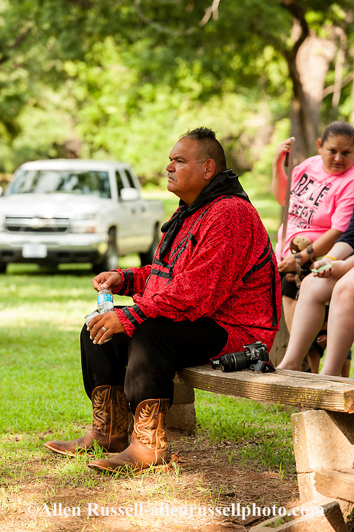 Caddo Indians, Native Americans, Caddo Nation Vice Chairman Philip Smith, J T Morrow Pow Wow, Binger Oklahoma
