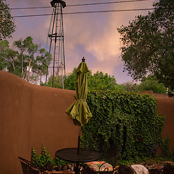 Our AirBNB in Santa Fe, New Mexico (Christina Paolucci, photographer).