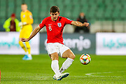 England defender Harry Maguire during the UEFA European 2020 Qualifier match between Bulgaria and England at Stadion Vasil Levski, Sofia, Bulgaria on 14 October 2019.