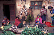 Zumbahua Market, Cotopaxi Province, Ecuador, South America