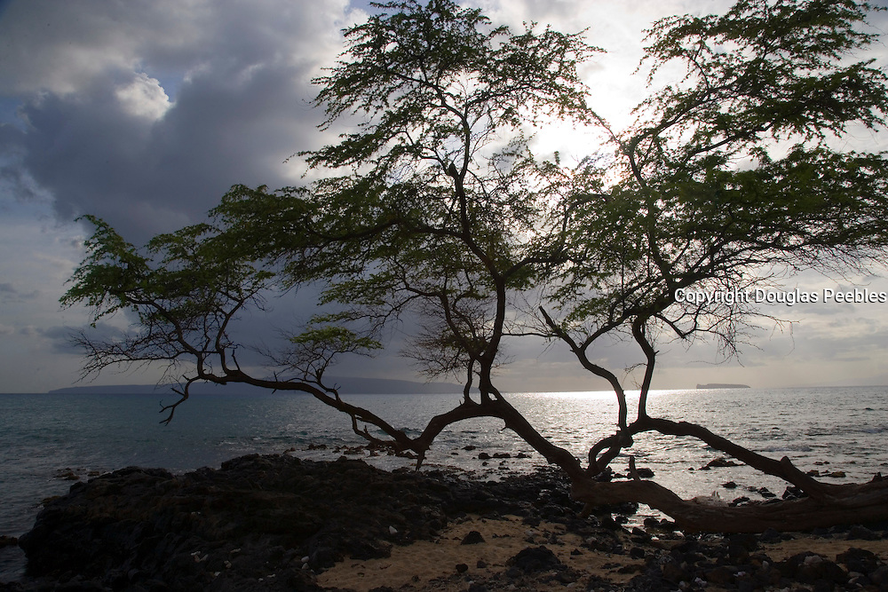 Sunset, Ahini Kinau Preserve, Maui, Hawaii<br />