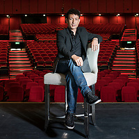 American-Japanese magician Cyril Takayama poses for a portrait session at the Broadway Macau Theatre, part of the World-Class Asian resort Galaxy Macau, on 13 Agust 2015, in Macao, China. Photo by Xaume Olleros