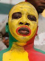 Photo: Steve Bond/Richard Lane Photography.<br />Ivory Coast v Mali. Africa Cup of Nations. 29/01/2008. Mali fan