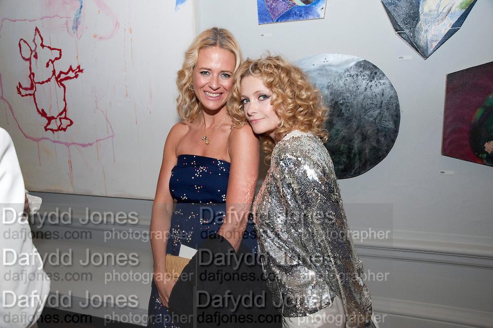DEBORAH BRETT; ALISON GOLDFRAPP, Royal Academy Summer Exhibition 2009 preview party. royal academy of arts. Piccadilly. London. 3 June 2009.