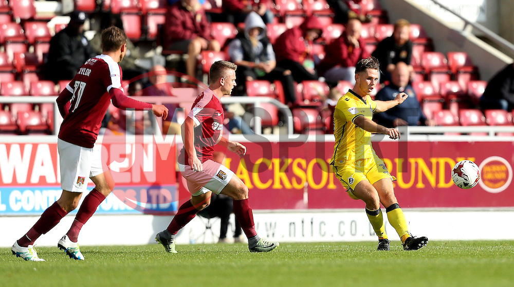 Charlie Colkett of Bristol Rovers passes the ball - Mandatory by-line: Robbie Stephenson/JMP - 01/10/2016 - FOOTBALL - Sixfields Stadium - Northampton, England - Northampton Town v Bristol Rovers - Sky Bet League One