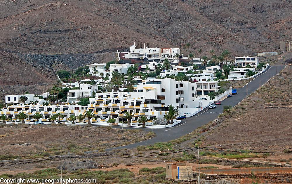 Holiday villas property housing development,  Pozo Negro, Fuerteventura, Canary Islands, Spain