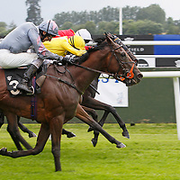 Eightfold and George Baker winning the 2.30 race