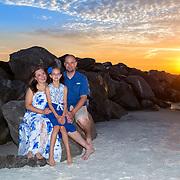 Travis Family Beach Photos