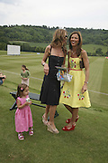 TRINNY WOODALL  AND HEATHER KERZNER, Guy Leymarie and Tara Getty host The De Beers Cricket Match. The Lashings Team versus the Old English team. Wormsley. ONE TIME USE ONLY - DO NOT ARCHIVE  © Copyright Photograph by Dafydd Jones 66 Stockwell Park Rd. London SW9 0DA Tel 020 7733 0108 www.dafjones.com