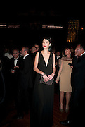 HANAA BEN ABELESSLEM, The Global launch of the 2012 Pirelli Calendar by Mario Sorrenti.  Dinner at the Park Avenue Armory. Manhattan. 6 December 2011.