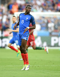 Paul Pogba of France  - Mandatory by-line: Joe Meredith/JMP - 10/07/2016 - FOOTBALL - Stade de France - Saint-Denis, France - Portugal v France - UEFA European Championship Final