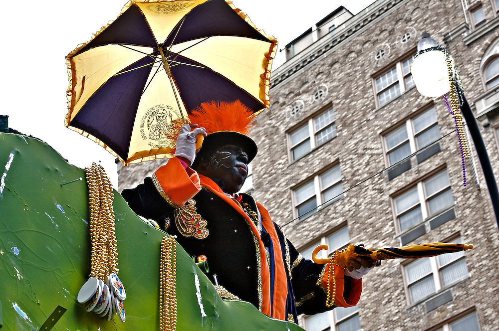 Zulu Parade, Mardi Gras, New Orleans, Louisiana, USA