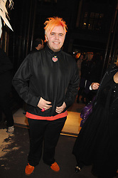 PEREZ HILTON at a party hosted by Mulberry to celebrate the publication of The Meaning of Sunglasses by Hadley Freeman held at Mulberry 41-42 New Bond Street, London on 14th February 2008.<br />