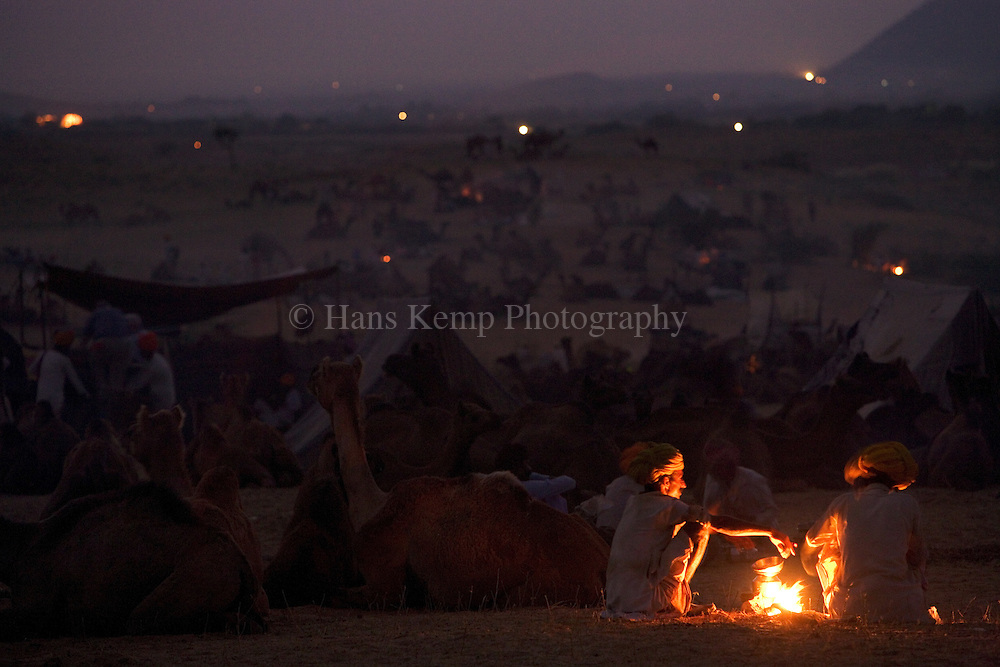 The Pushkar Mela (grand fair) takes place every year in the town of Pushkar in Rajasthan State during the month of Kartik.More than 10000 camels and their traders camp out on the mela grounds at the edge of town.