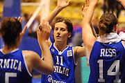 Vannes 17 Giugno 2013 <br /> Eurobasket Women 2013<br /> Italia - Russia<br /> Nella foto: raffaella masciadri<br /> Foto Ciamillo