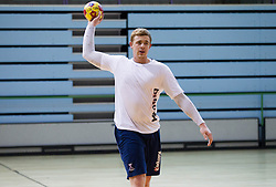 Matej Gaber during the Training Camp before IHF Men's Handball World Championship Spain 2013 on January 9, 2013 in Zrece, Slovenia. (Photo By Vid Ponikvar / Sportida.com)