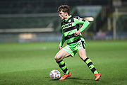 Forest Green Rovers Alex Whittle(19) during the EFL Trophy 3rd round match between Yeovil Town and Forest Green Rovers at Huish Park, Yeovil, England on 9 January 2018. Photo by Shane Healey.