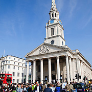 St Martin-in-the-Fields Church next to Trafalgar Square