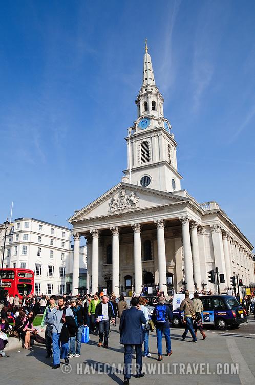 St Martin-in-the-Fields Church next to Trafalgar Square