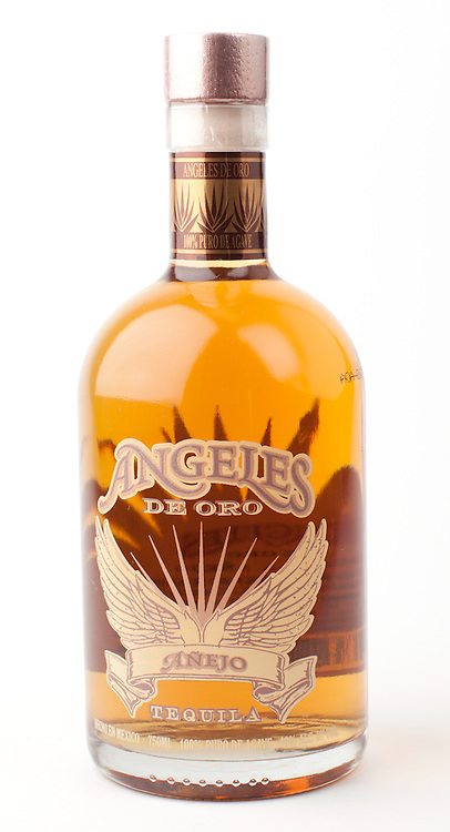 Angeles de Oro anejo -- Image originally appeared in the Tequila Matchmaker: http://tequilamatchmaker.com
