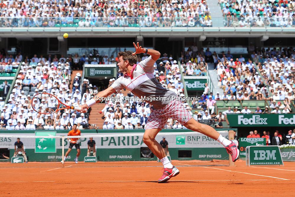 Stan Wawrinka (Sui) def Novak Djokovic (Ser)