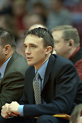 12 February 2005<br /> <br /> Brian Barone.<br /> <br /> Illinois State University Redbirds V Northern Iowa Panthers Mens NCAA Missouri Valley Conference Basketball.  Redbird Arena, Illinois State University, Normal IL