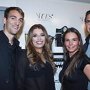 NLD/Amserdam/20131115 - Opening Nyves2, Wim Janssen en partner Nyves, Mandy Verhoek en partner Wesley Verhoek