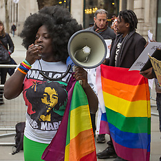 7 Mar. 2014 - London protest against anti-gay law in Nigeria
